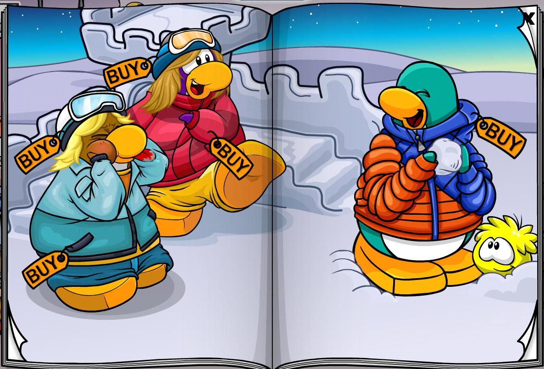 Club Penguin Island Signin